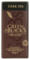 Bio étcsokoládé 70% kakaóval